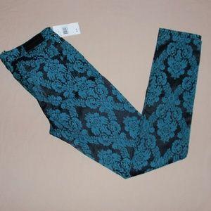 Big Star Alex Skinny Jacquard Print Jeans Pants 28